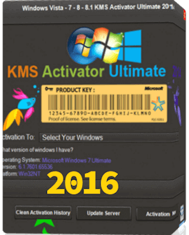 Windows KMS Activator Ultimate 2016 free
