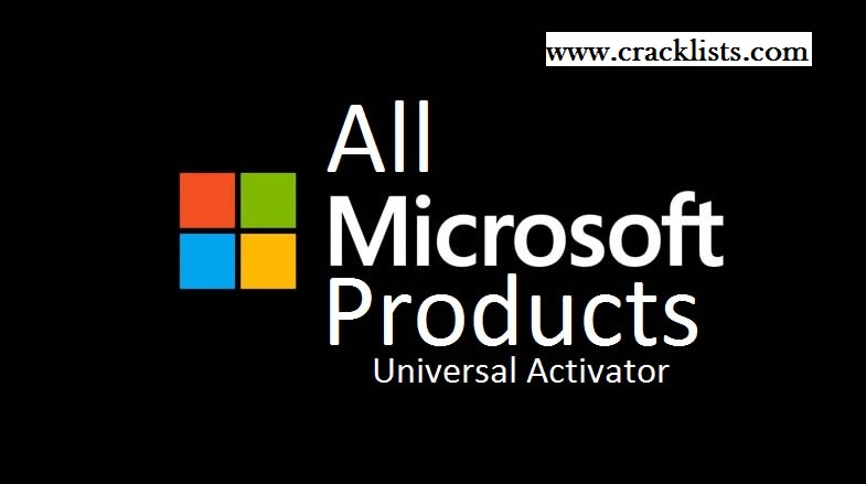 All Microsoft Products Universal Activator