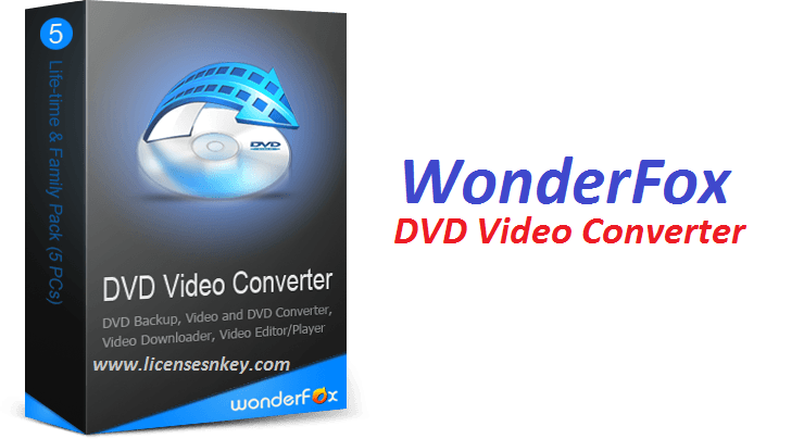WonderFox DVD Video Converter 9.0 Crack