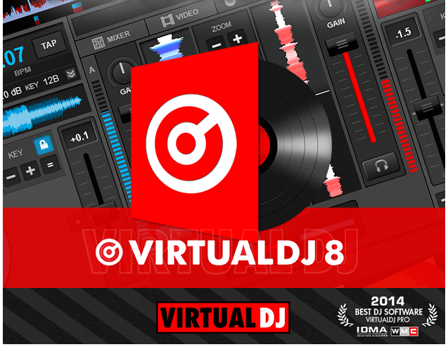 Virtual Dj 8 pro with all Controller Free Download