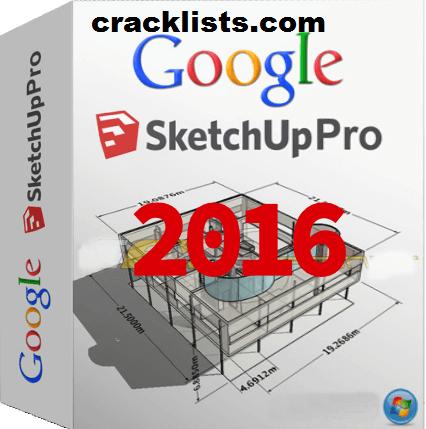 Google SketchUp Pro 2016 Crack License Key Free Download